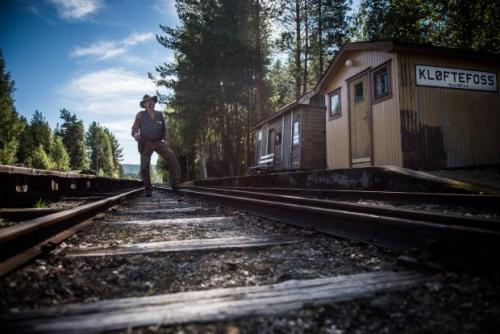Deadwood City på Kløftefoss ble til for 26 år siden fordi museumsjernbanen Krøderbanen ville ha noe mer å tilby publikum. Foto: Lisa Rypeng